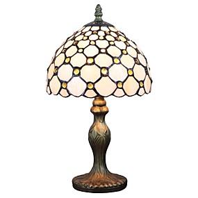 billige Bordlamper-Tiffany Ambient Lamper / Dekorativ Bordlampe Til Leserom / Kontor / butikker / cafeer Harpiks 110-120V / 220-240V