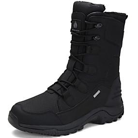 22d714762e2 Ανδρικά Μπότες Χιονιού Πανί / Συνθετικά Χειμώνας Αθλητικό / Βίντατζ Μπότες  Διατηρείτε Ζεστό Μπότες στη Μέση της Γάμπας Μαύρο / Μπλε