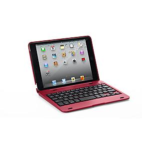 זול במקרה iPad-מגן עבור Apple iPad Mini 3/2/1 / J6 עם מקדלת כיסוי מלא אחיד קשיח עור PU ל iPad Mini 3/2/1