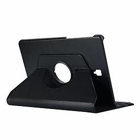 voordelige Tabletaccessoires-hoesje Voor Samsung Galaxy Tab S4 10.5 (2018) met standaard / Flip / 360° rotatie Volledig hoesje Effen Hard PU-nahka voor Tab S4 10.5 (2018)