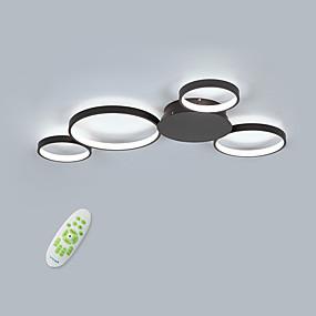 hesapli Gömme Montaj-4-Işık Dairesel Gömme Montajlı Işıklar Ortam Işığı Boyalı kaplamalar Alüminyum Mat, Kısılabilir, Yeni Dizayn 110-120V / 220-240V Sıcak Beyaz / Uzaktan Kumandayla Kısılabilir / Soğuk Beyaz