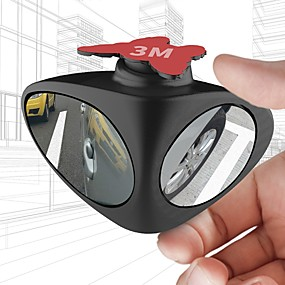 f919c2d3ff9 Car Rear View Mirror Rotatable Adjustable Blind Spot Mirror Convex Wide  Angle Mirror front wheel Car mirror