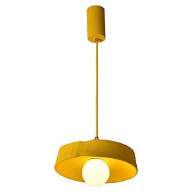 billige Hengelamper-ZHISHU Sirkelformet / Sputnik Anheng Lys Nedlys Malte Finishes Metall Kreativ, Nytt Design 110-120V / 220-240V Varm Hvit / Hvit Pære Inkludert / E26 / E27
