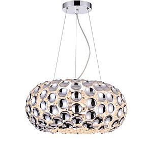 abordables Plafonniers-CXYlight 3 lumières Globe Lampe suspendue Lumière d'ambiance Plaqué Acrylique Acrylique Design nouveau 110-120V / 220-240V
