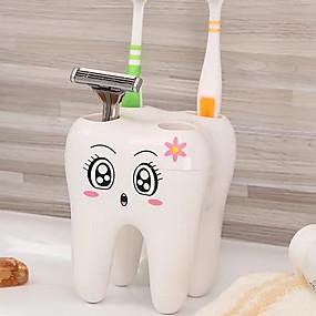 81a5d144ecbc1 كوب فرشاة أسنان بديع   خلاق الحديث بلاستيك 6PCS فرشاة الأسنان وملحقاتها    الإسفنج و أجهزة التنظيف