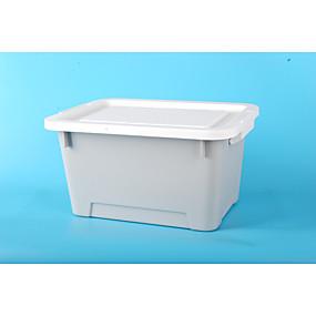 billige Lagring og oppbevaring-PP Rektangulær Nytt Design Hjem Organisasjon, 1pc Oppbevaringskasser