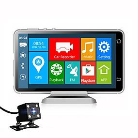 economico DVR per auto-Vasens 1080p Nuovo design / Dual Lens / Avvia la registrazione automatica Automobile DVR 170 Gradi Angolo ampio 5 pollice IPS Dash Cam con Wi-fi / GPS / G-Sensor 4 LED a infrarossi Registratore per