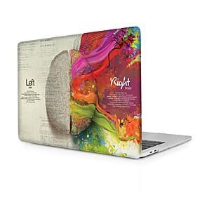 voordelige Mac-accessoires-macbook case cartoon hersenen pvc case voor apple macbook air pro retina 11 12 13 15 laptop beschermhoes voor macbook nieuwe pro 13.3 15 inch met touch bar
