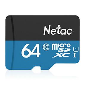 abordables Lecteurs et stockage-Netac 64Go carte mémoire UHS-I U1 / Class10 P500