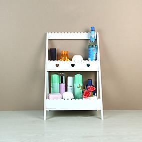 billige Lagring og oppbevaring-Oppbevaring Organisasjon Kosmetisk Makeup Organizer PVC skum styret Uregelmessig form Kreativ / Flerlags / Originale