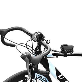 billige Sykkellykter og reflekser-Hodelykter Sykkellykter LED Cree® XM-L T6 7 emittere 10000 lm 1 lys tilstand Oppladbar Camping / Vandring / Grotte Udforskning, Sykling, Jakt
