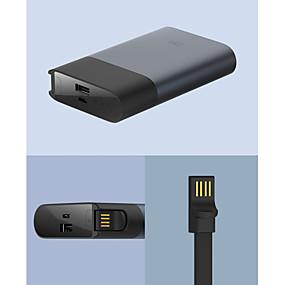 billige Eksterne batterier-Xiaomi 10000 mAh Til Power Bank Eksternt batteri 5/9/12 V Til Til Batterilader QC 2.0
