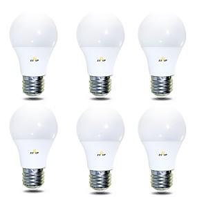 رخيصةأون لمبات LED-EXUP® 7 W مصابيح كروية LED 680 lm B22 E26 / E27 14 الخرز LED SMD 2835 أبيض دافئ أبيض كول 220-240 V 110-130 V, 6PCS