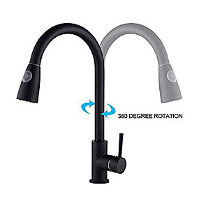 cheap Faucets-Kitchen faucet Others Centerset Contemporary / Modern Style Kitchen Taps / Brass