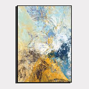 cheap Trending-Framed Canvas Framed Set - Abstract Plastic Illustration Wall Art