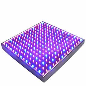 billige LED Økende Lamper-1pc 225leds 15w led vokse lampe hydroponic 165red 60blue eu plugg for innendørs planter blomst grønnsak innendørs hage ac85-265v