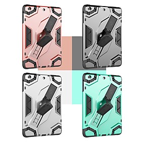 cheap Tablet Accessories-Case For Apple iPad mini 4 / iPad Mini 3/2/1 Shockproof / with Stand Back Cover Armor Hard PC for iPad Mini 3/2/1 / iPad Mini 4