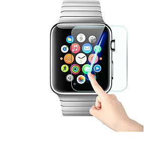 voordelige Smartwatch screenprotectors-Screenprotector Voor Apple Watch 42mm / Apple Watch 38mm / Apple Watch Series 4 Gehard Glas 9H-hardheid / 2.5D gebogen rand / Explosieveilige 1 stuks