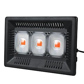 billige LED Økende Lamper-1set 100 W 8000 lm 3 LED perler Fullt Spektrum Lett installasjon For drivhushydroponisk Voksende lysarmatur Lilla 220-240 V 110-120 V Kommersiell