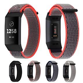 billige Smartwatch Bands-Klokkerem til Fitbit Charge 3 Fitbit Sportsrem / Moderne spenne Nylon Håndleddsrem