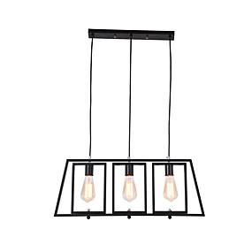 voordelige Plafondverlichting & Ventilatoren-JSGYlights 3-Light Noviteit Kroonluchters Sfeerverlichting Geschilderde afwerkingen Metaal Nieuw Design 110-120V / 220-240V