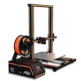 levne France Promotion 2019-anet® e16 3D tiskárna diy 300 * 300 * 400mm velikost tisku podpora offling / online tisk s 250g vláknem 1,75mm 0,4mm tryska