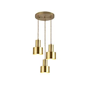 levne Závěsné lustry-3-Light Závěsná světla Světlo dolů Galvanicky potažený Kov 110-120V / 220-240V