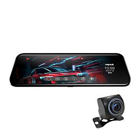 povoljno Novi dolasci u kolovozu-Anytek T12+ 1944p New Design / Dvojna leća / Pokrenite automatsko snimanje Auto DVR 170 stupnjeva Široki kut 2.0MP CMOS 9.7 inch Dash Cam s G-Sensor / Mod za parkiranje / Detekcija pokreta Car