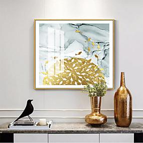 baratos Pinturas-quadro emoldurado pintura a óleo abstrata aquática& arte plástica náutica da parede da pintura a óleo