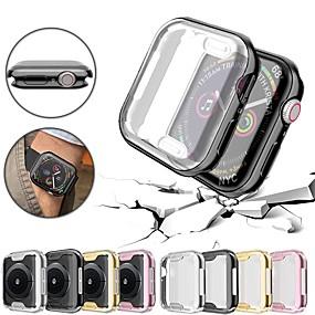 billige Smartwatch Case-Etui Til Apple Apple Watch Series 4 / Apple Watch Series 4/3/2/1 / Apple Watch Series 3 PU Apple
