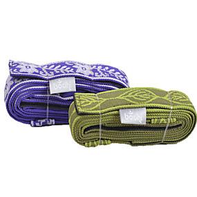 voordelige Pilates-Yoga riem Textiel Binnenwerk Verstelbare D-ringsluiting Fysiotherapeuten Yoga Fitness Voor Unisex