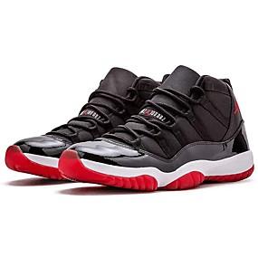 cheap Men's Athletic Shoes-Men's Comfort Shoes Faux Leather Spring & Summer Athletic Shoes Basketball Shoes Black
