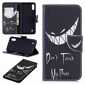 cheap Cellphone Case-Case For Samsung Galaxy Galaxy J6 Plus(2018) / J2 PRO 2018 Wallet / Card Holder / Flip Full Body Cases Word / Phrase Hard PU Leather for J6 (2018) / J6 Plus / J4 (2018)
