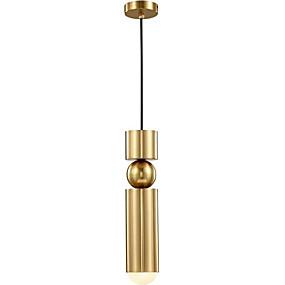 billige Hengelamper-Sylinder Anheng Lys Nedlys galvanisert Metall 110-120V / 220-240V