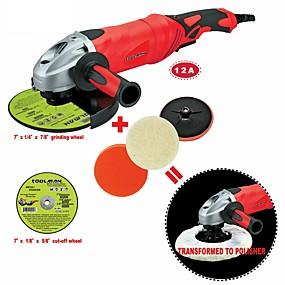 billige Værktøj-værktøjsmand 6 stk vinkelslibemaskine 7 12a 6 variabel hastighed& afskåret hjulslibeskive