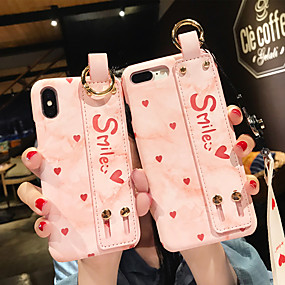 cheap iPhone Cases-Case For Apple iPhone XS Max / iPhone 6 with Stand / Pattern Back Cover Heart Hard PC for iPhone XS / iPhone XR / iPhone XS Max