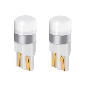 povoljno Svjetla bočnih markera-2pcs t10 w5w auto vodio žarulja 9v-24v 200lm ultra svijetle LED žarulje registarske pločice svjetla / pokazivači smjera / stražnje svjetlo / kupola lampa
