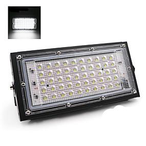 Недорогие Прожекторы-Идеальная мощность 50 Вт светодиодный прожектор прожектор светодиодный уличный фонарь 180-240 В водонепроницаемый ландшафтное освещение ip65 светодиодный прожектор
