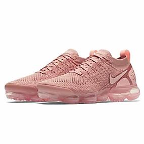 baratos Sapatos Esportivos Femininos-Mulheres Tênis Sem Salto Tissage Volant Corrida Primavera & Outono Rosa claro / Arco-íris
