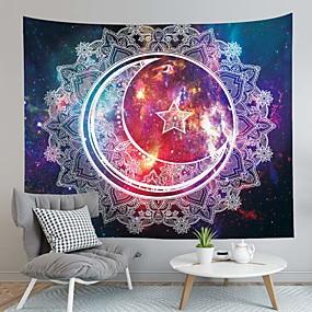 halpa Seinämaalaukset-Perhos-teema / Bohemian Teema Wall Decor 100% polyesteri Välimeren / Böömi Wall Art, Seinävaatteet Koriste