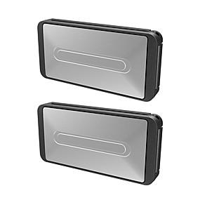 billige Nyankomne i oktober-2 stk bærbar universal bilbeltebelte klemme biljusterbare setebelter holder stopper spenne klemme
