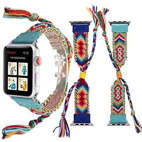povoljno Smartwatch bendovi-Pogledajte Band za Apple Watch Series 4/3/2/1 Apple Sportski remen Metal / Materijal Traka za ruku