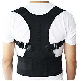 billige Helse og personlig pleie-menn kvinner justerbar magnetisk stillingen corrector korsett rygg rygg rygg belte lumbale støtte rett korrektur