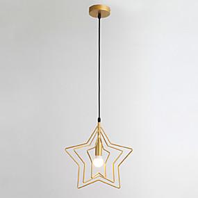 abordables Plafonniers-Géométrique Lampe suspendue Lumière d'ambiance Finitions Peintes Métal Créatif 110-120V / 220-240V