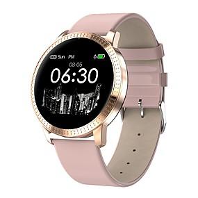 preiswerte Neuheiten-CF18 Männer Frauen Smart-Armband Android iOS Bluetooth Wasserfest Herzschlagmonitor Sport Smart Kamera Timer Stoppuhr Schrittzähler Anruferinnerung AktivitätenTracker