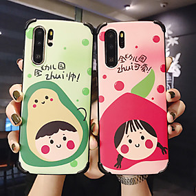 cheap Cool & Fashion Cases for iPhone-Case For Apple iPhone XS / iPhone XR / iPhone XS Max Shockproof / Dustproof / IMD Back Cover Word / Phrase / Cartoon Silica Gel