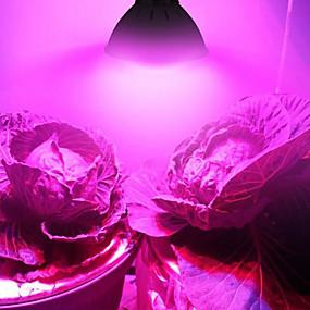 billige LED Økende Lamper-2pcs 6 W 3000 lm 60 LED perler Fullt Spektrum Voksende lysarmatur 85-265 V Vegetabilsk drivhus