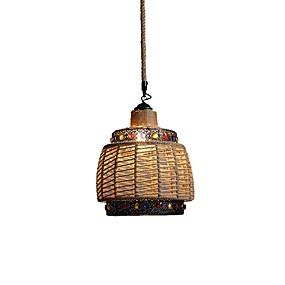 billige Hengelamper-justerbar hamptau pendnat lys lantern anheng lys omgivende lys hamp tau nytt design