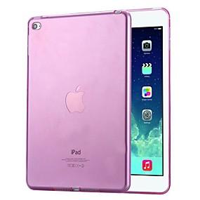 voordelige Ipad Hoes-hoesje Voor Apple iPad Pro 12.9 '' / iPad Pro 9.7 Schokbestendig / Stofbestendig Achterkant Effen Zacht TPU / silica Gel voor iPad Air / iPad 4/3/2 / iPad Pro 10.5