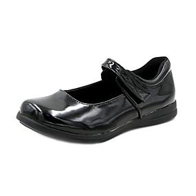 voordelige Damesschoenen met platte hak-Dames Platte schoenen Platte hak Lakleer Zomer Zwart